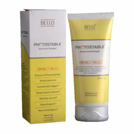 Photostable Sunscreen Gel, 75gm