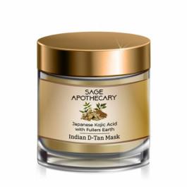 Sage Apothecary Indian D - Tan Mask Japanese Kojic Acid, 100ml