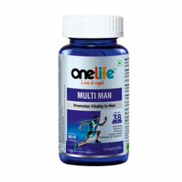 Onelife Multi Man, 60 Tablets