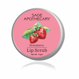 Sage Apothecary Strawberry lip scrub, 8g