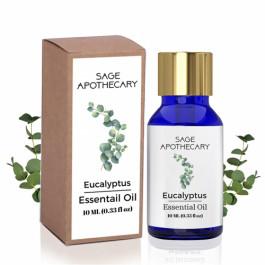 Sage Apothecary Eucalyptus Essential Oil, 10ml