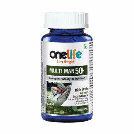 Onelife Multiman 50+, 60 Tablets