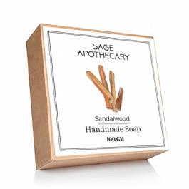 Sage Apothecary Sandalwood Soap, 100gm
