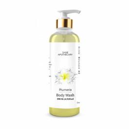 Sage Apothecary Plumeria Body Wash, 200ml