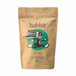 Habbit Nude Pea Protein Unflavoured Isolate, 450gm