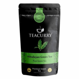 Teacurry Himalayan Green Tea, 60 Tea Bags