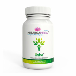 Nisarga Herbs Usha, 60 Capsules