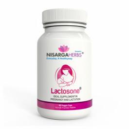 Nisarga Herbs Lactosone, 60 Capsules