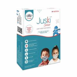 Juski Unisex-Child Cotton Face mask, Cat Print & Rabbit Print