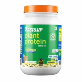 Fast&Up Organic Plant Protein Vanilla Cupcake, 30 Servings