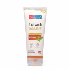Dr Batra's Face Wash Daily Care Enriched With Tea Tree Oil, 210gm