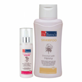 Dr Batra's Hair Fall Control Serum, 125ml With Normal Shampoo, 500ml Combo Pack
