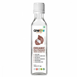 Onelife Organic Wet Milled Cold Pressed Virgin Coconut Oil, 100ml