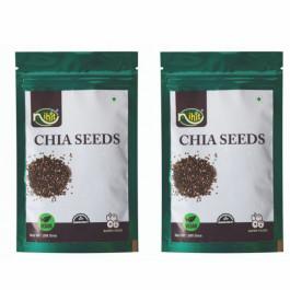 Nihit Chia Seeds, 200gm (Pack Of 2)