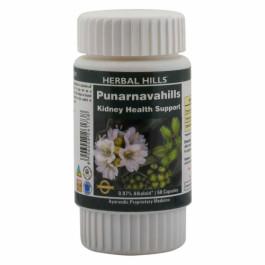 Herbal Hills Punarnavahills, 60 Capsules