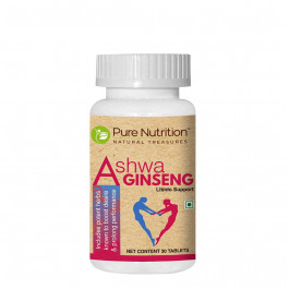 Pure Nutrition Ashwa Ginseng, 30 Tablets