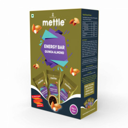 Mettle Quinoa Almond Energy Bar, 35gm (Pack Of 12)