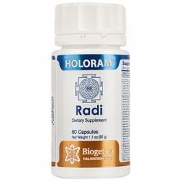 Biogetica Holoram Radi, 60 Capsules
