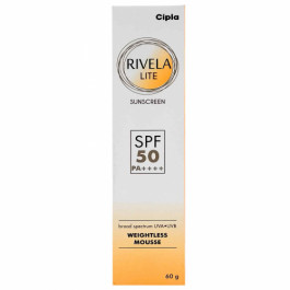 Rivela Lite Sunscreen SPF 50, 60gm
