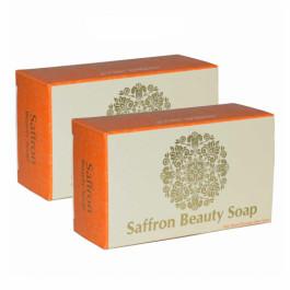 Herbal Hills Saffron Soap,  100gm  (Pack of 2)