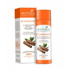 Biotique Bio Sandalwood Lotion SPF 50 Sunscreen, 120ml