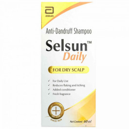 Selsun Daily Anti-Dandruff Shampoo, 60ml