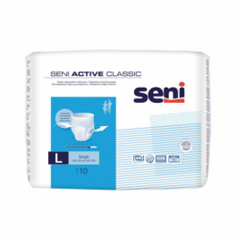 Seni Active Classic Breathable Pull-Ups Large, 10 Pieces
