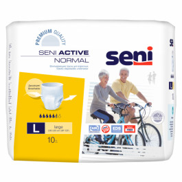 Seni Active Normal Breathable Pull-Ups Large, 10Pieces