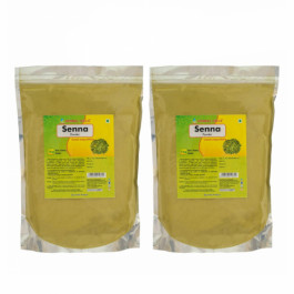 Herbal Hills Senna Powder, 1Kg (Pack Of 2)