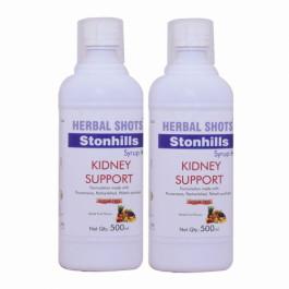 Herbal Hills Stonhills Herbal Shots,  500ml (Pack of 2)