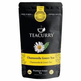 Teacurry Chamomile Green Tea, 30 Tea Bags