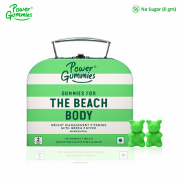 Power Gummies The Beach Body Weight Management Vitamins, 120 Gummies