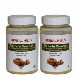 Herbal Hills Triphala Powder, 100gm (Pack Of 2)