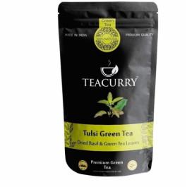 Teacurry Tulsi Green Tea, 60 Tea Bags