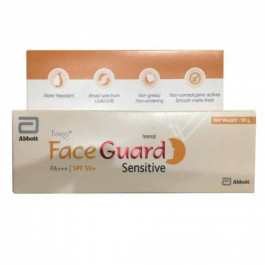 Tvaksh Face Guard Sensitive SPF50, 50gm