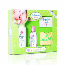 Johnson's Baby Care Collection, Set Of 5