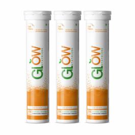 GlowGlutathione Orange Effervescent, 60 Tablets