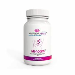 Nisarga Herbs Menodim, 60 Capsules