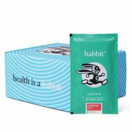 Habbit Green Vegan Pea Protein Strawberry Feels Powder, 900gm