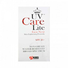 UV Care Lite Gen Next Skin Lightening Formula SPF 26+ -30 ml
