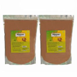 Herbal hills Vijaysar Powder, 1Kg (Pack Of 2)