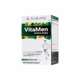 Avalife VitaMen Active Daily, 60 Capsules