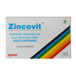 Zincovit, 15 Tablets