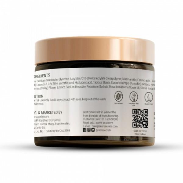 Seer Sercrets Rosehip & Kakadu plum Vitamin C & 5% Niacinamide Sleeping Mask, 50gm