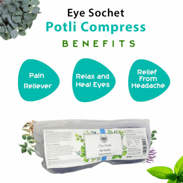 Seer Secrets Eye Socket Potli Compress, 220gm