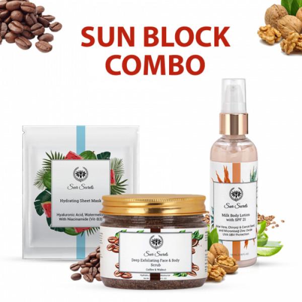 Seer Secrets Sun Block Combo