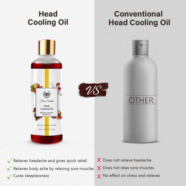 Seer Secrets Head Cooling Oil, 200ml