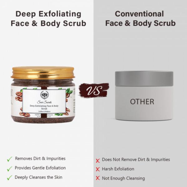 Seer Secrets Deep Exfoliating Face & Body Scrub, 300gm