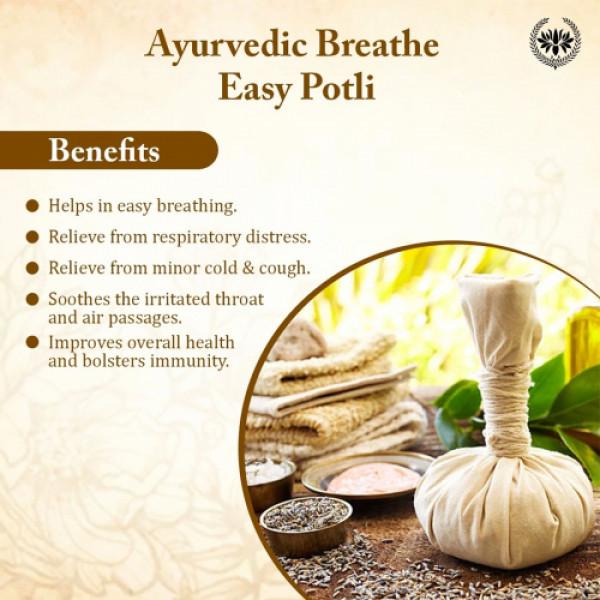 Seer Sercrets Ayurvedic Breathe Easy Potli, 80gm