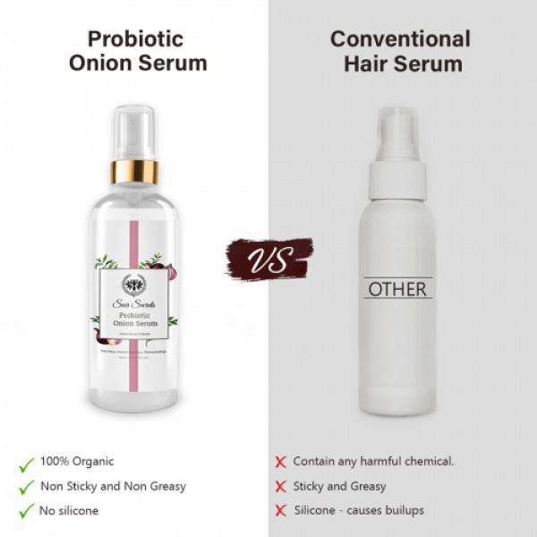 Seer Sercrets Probiotic Onion Serum Onion Extract & Biotin, 100ml
